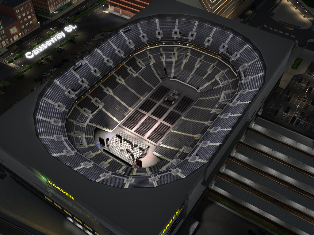 TD Garden Virtual Venue™ by IOMEDIA